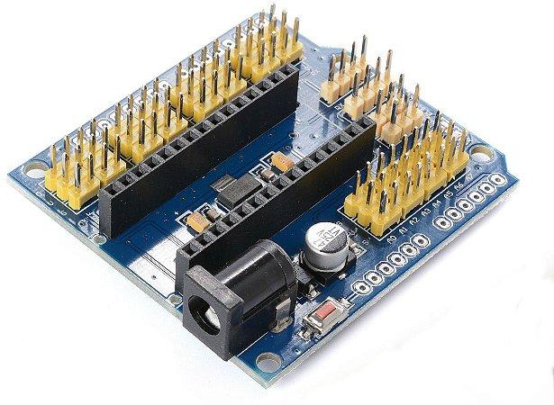Placa de Expanção para Arduino Nano - V3.0 Shield