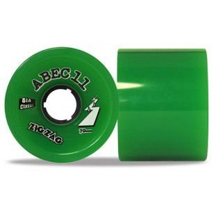 Roda Abec 11 Zig Zag 70mm Green 81A