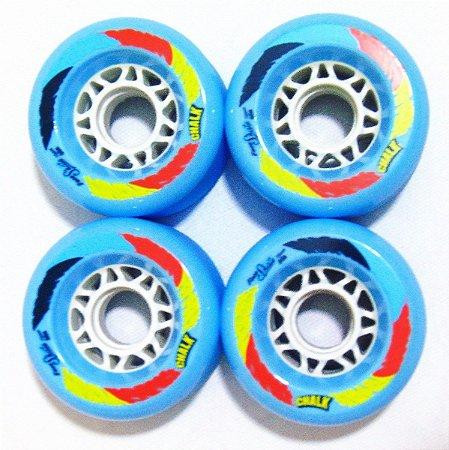 Roda Face Skate Chalk Azul 70mm 86A