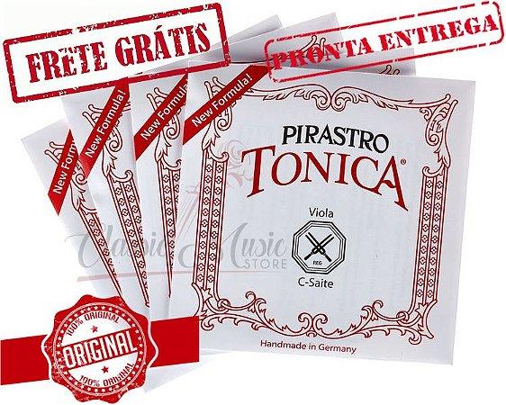 Encordoamento Para Viola de Arco Pirastro Tonica Original