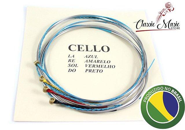 Encordoamento Para Violoncello - Cello Mauro Calixto Jogo Padrão