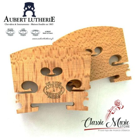 Cavalete Para Viola De Luxe Aubert A Mirecourt France 48mm