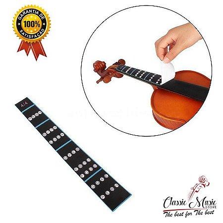 Adesivo para Escalas de Violino 4/4 Frete Gratis