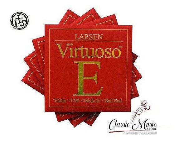 Jogo De Corda P/ Violino Larsen Virtuoso Handmade In Denmark