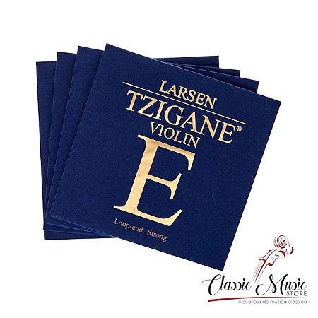Encordoamento Cordas Para Violino Larsen Tzigane