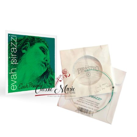 Corda Mi Ouro Avulsa Pirastro Evah Pirazzi Violino 4/4