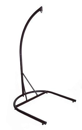 Suporte para balanço aço galvanizado pintado marrom