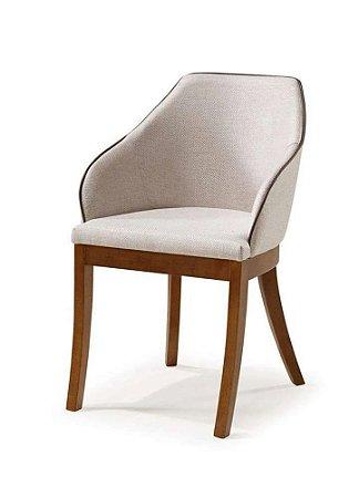 Cadeira Musa Estofada com braços