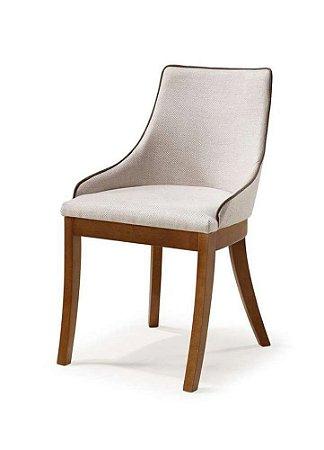 Cadeira Musa em Madeira Estofada