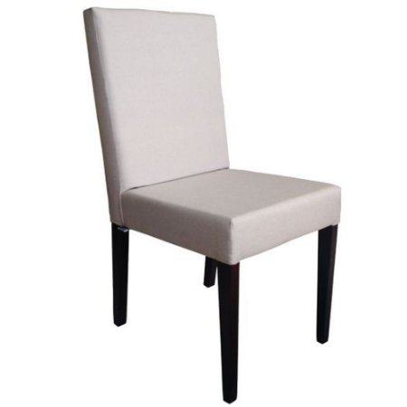 Cadeira Sofia madeira Tauari tabaco estofada