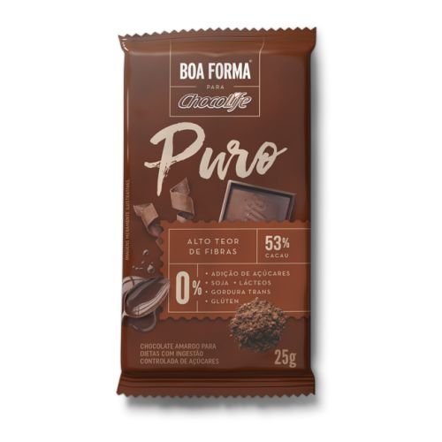 Chocolife 53% Boa Forma Puro Cacau 25g