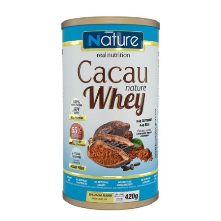 Cacau nature whey 55% 420g - Nature