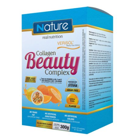 Collagen Beauty Complex c/ 30 sticks Frutas Amarelas - Nature