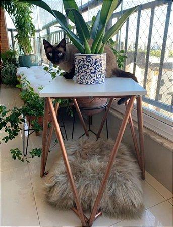 Mesa cobre para gatos