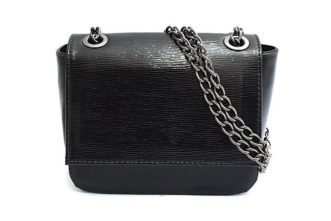 2ee9731c7 Bolsa Transversal Maria Milão Mini Bag Preta - Maria Milão Bolsas