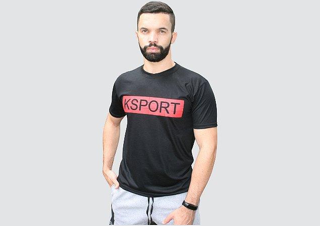 Camiseta preta KSPORT