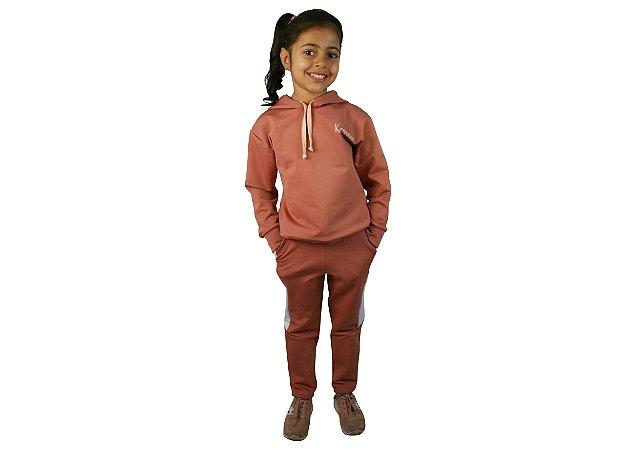 Conjunto confort rosê
