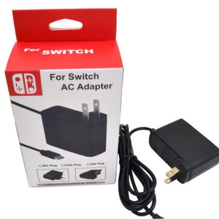 Fonte Carregador Nintendo Switch - Bi-volt