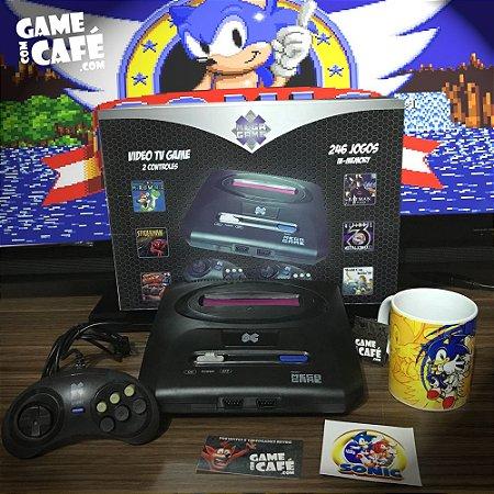 Mega Drive Clone com 123 Jogos