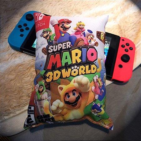 Mini Almofada Super Mario 3D World