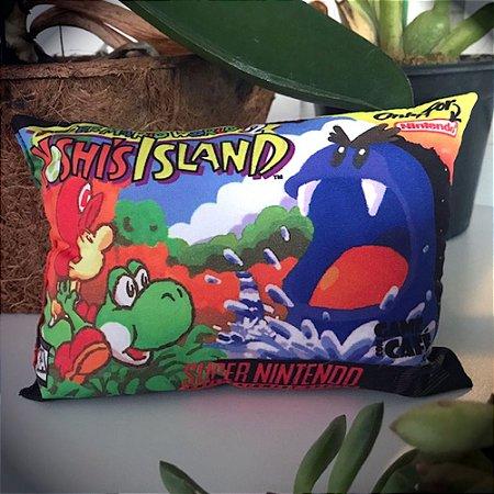 Mini Almofada do Super Mario World 2 - Yoshi Island