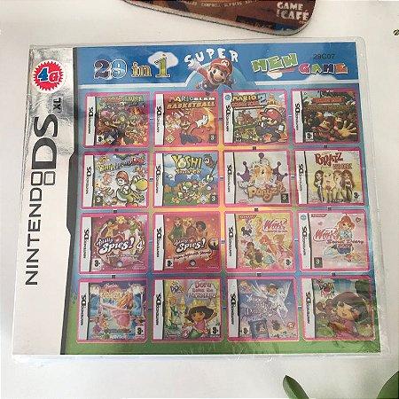 Super 29 jogos em 1 para Nintendo DS, 2DS ou 3DS