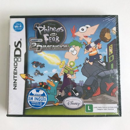 Phineas and Ferb - 2nd Dimension - Nintendo DS 2DS 3DS