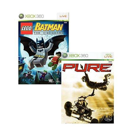 2 em 1 - LEGO Batman + Pure - Xbox 360