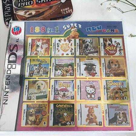 Super 188 jogos em 1 para Nintendo DS, 2DS e 3DS