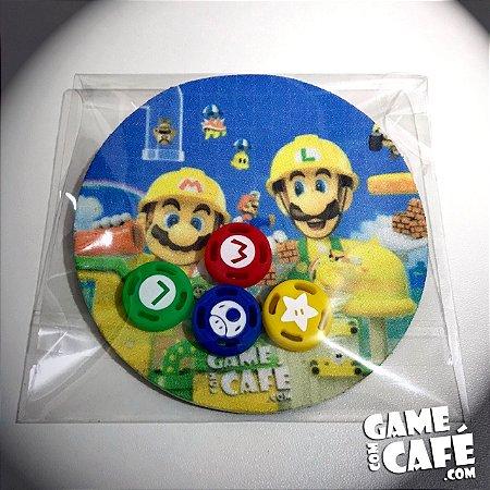 Grip Protetor Analógio Super Mario - Nintendo Switch