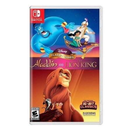 Disney Classic Games - Aladdin e The Lion King - Switch