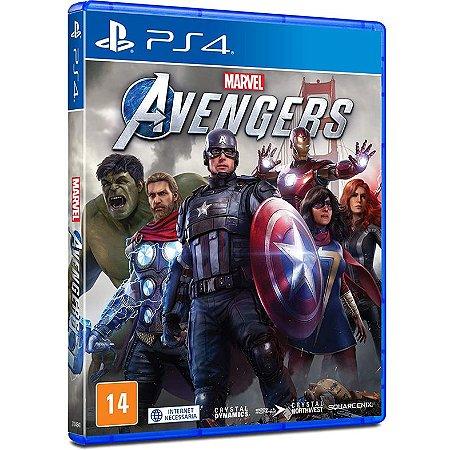 Marvel Avengers - Os Vingadores - PS4