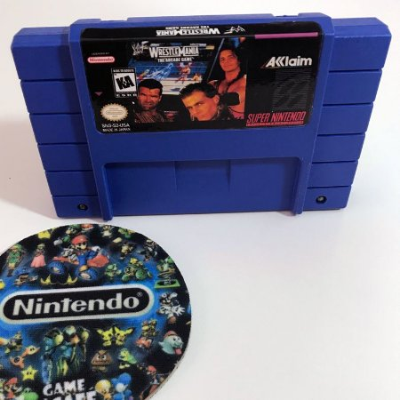 WWF WrestleMania: The Arcade Game - Super Nintendo