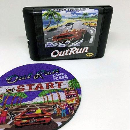 Cartucho Out Run - Mega Drive