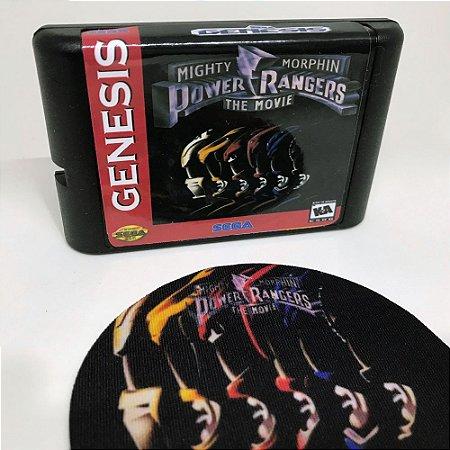 Cartucho Power Rangers The Movie - Mega Drive