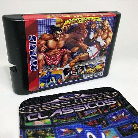 Cartucho Mega Drive 196 jogos em 1