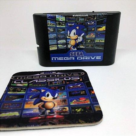 Cartucho 800 Jogos em 1 - Mega Drive