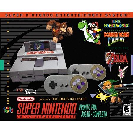 Super Nintendo Retro 7500