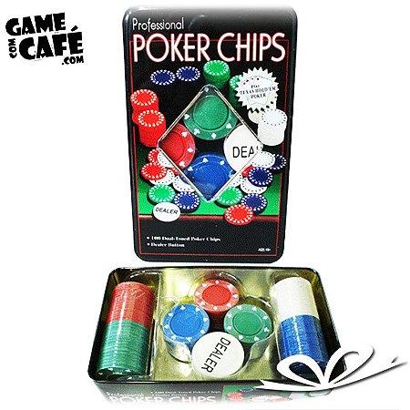 Kit Jogo de Poker