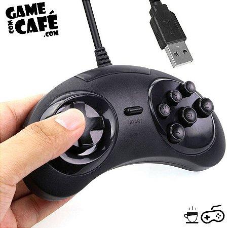 Controle USB Mega Drive