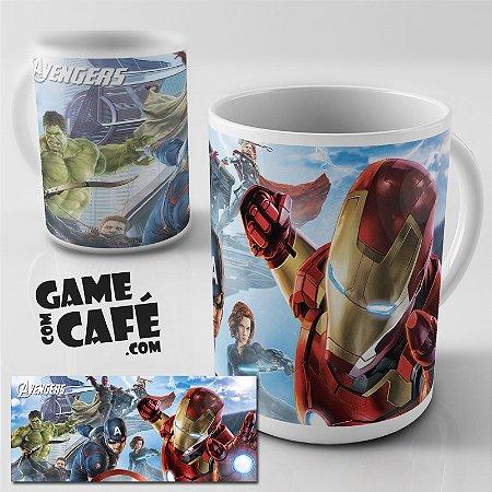 Caneca S67 Os Vingadores - Avengers