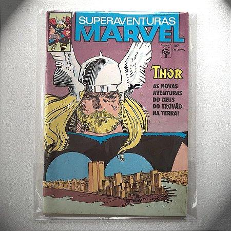 Super Aventuras Marvel - N107 - 1991