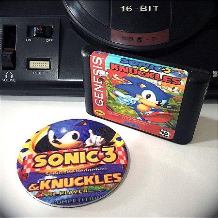 Cartucho Sonic 3 e Knuckles