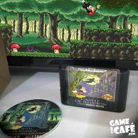 Cartucho Castle of Illusion