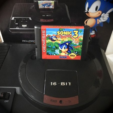 Cartucho Sonic 3