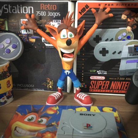 Action Figure Crash Bandicoot