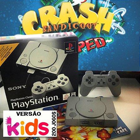 Playstation Classic KIDS 200 Jogos