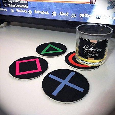 Porta-copos Playstation
