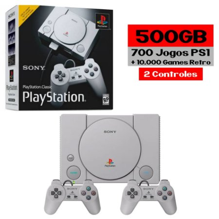 Playstation Classic Retro 700 Jogos + Retro
