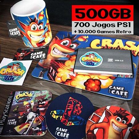 HD 700 Jogos + Retro para o Playstation Classic